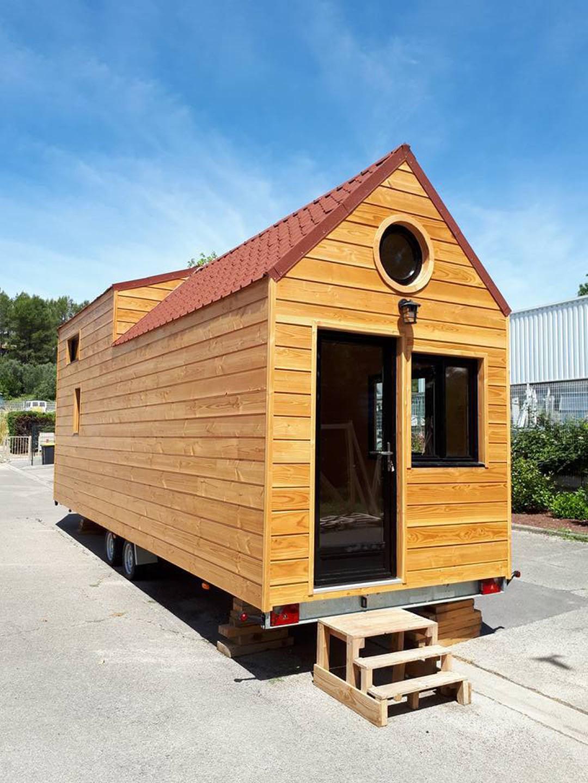 tiny house Agathoise avec oeil de boeuf